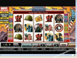 play slot machines Captain America CryptoLogic