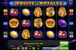 play slot machines Fruits and Royals Gaminator