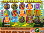 play slot machines Land Of Warriors Wirex Games